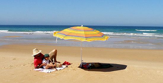 Playas familiares en Cádiz