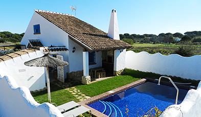 Andaluc a sur apartamentos y casas rurales en cadiz for Casas en alquiler en la playa con piscina